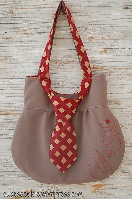 eco necktie bag