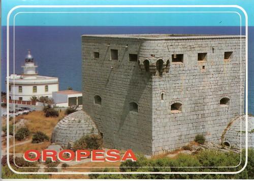 Torre del rey y faro de Oropesa. 1994