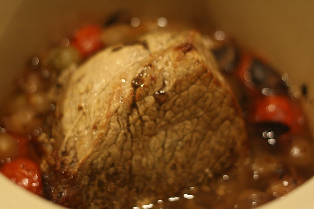 roast beef in the crock pot