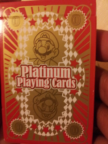 Nintendo Playing Cards