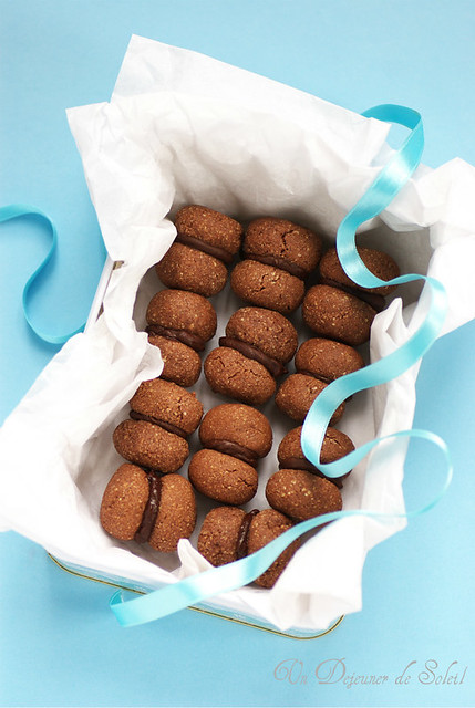 Baci di Alassio - Chocolate kiss cookies