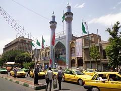 Mesquita no centro de Teerao