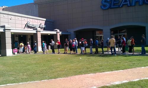 11-2-12 TX - Austin, Early Voting