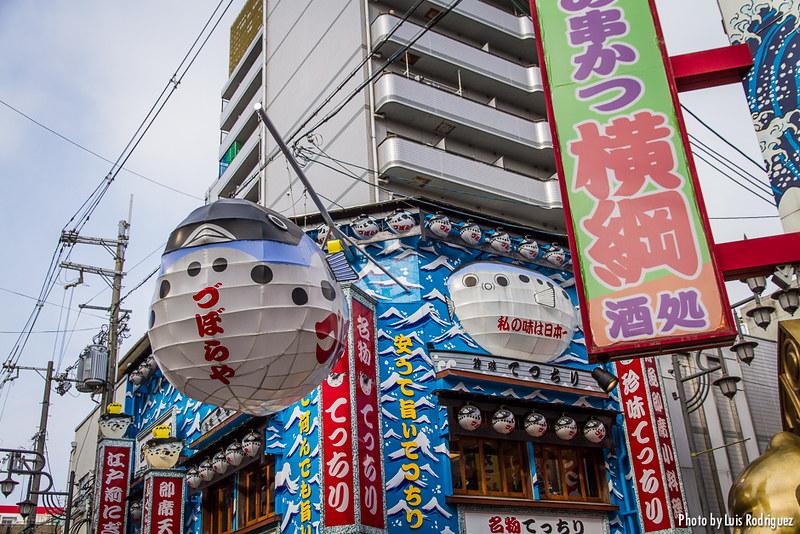 Infinidad de opciones para comer en Osaka