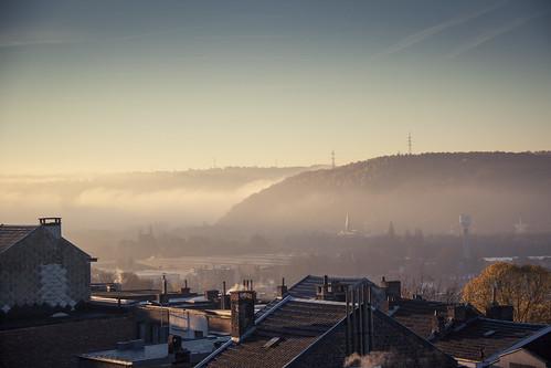 The First Morning (Vallée de Liège, Belgique) - Photo : Gilderic