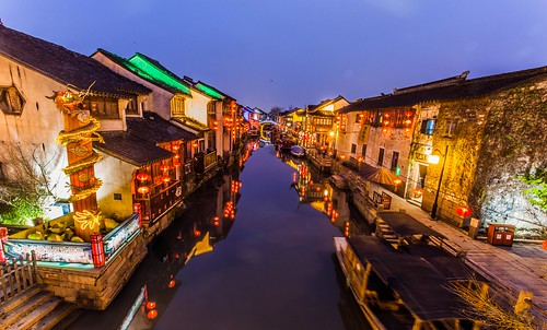 Chinese Venice - The water canals of Suzhou