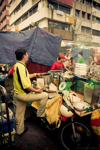 Food stall in Petaling Street