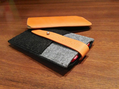 Mujjo iPhone 5 Wallet & Sleeve