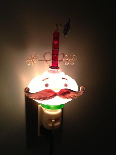 Holiday Santa bubble light. by TwisterMc