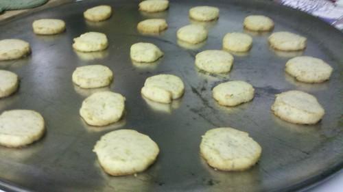 Orange Chamomile Cookies