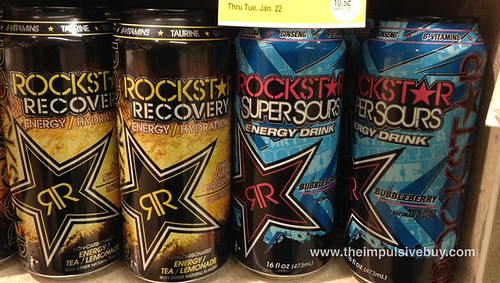 New Rockstar Energy Drinks