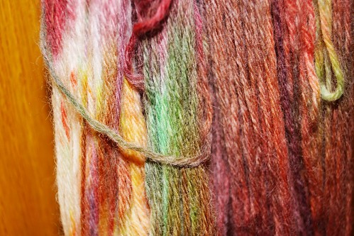 Dyed Yarn Detail