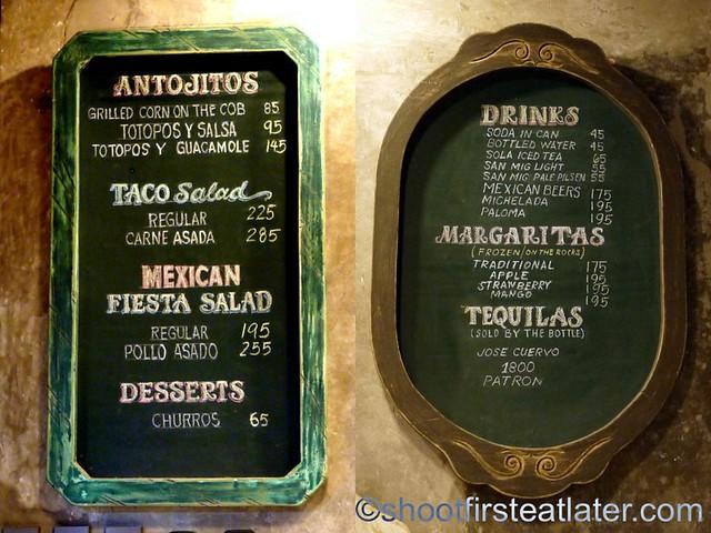 Orale! Taqueria Mexicana menu-001