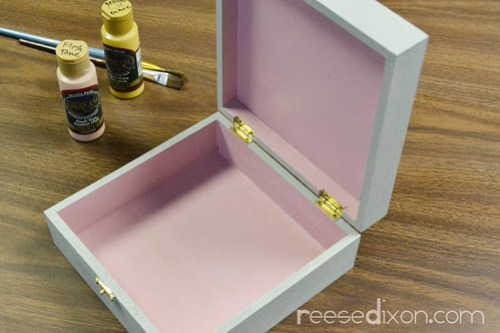 Dress Up Doll Box Tutorial Step 1