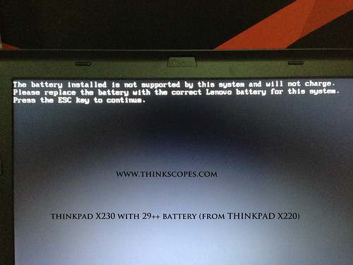 29++ (9 cells) in ThinkPad X220 compatibility
