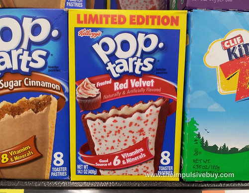 Red Velvet Pop-Tarts