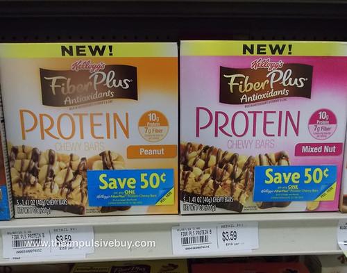 Kellogg's FiberPlus Antioxidants Protein