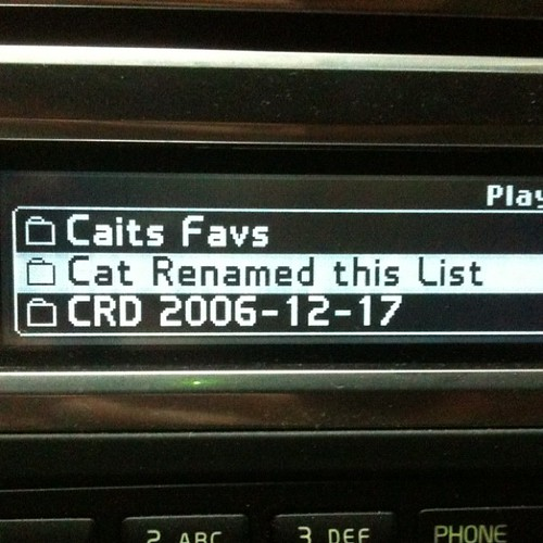 Cat Renamed this List