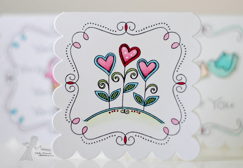 TE Valentine Doodles