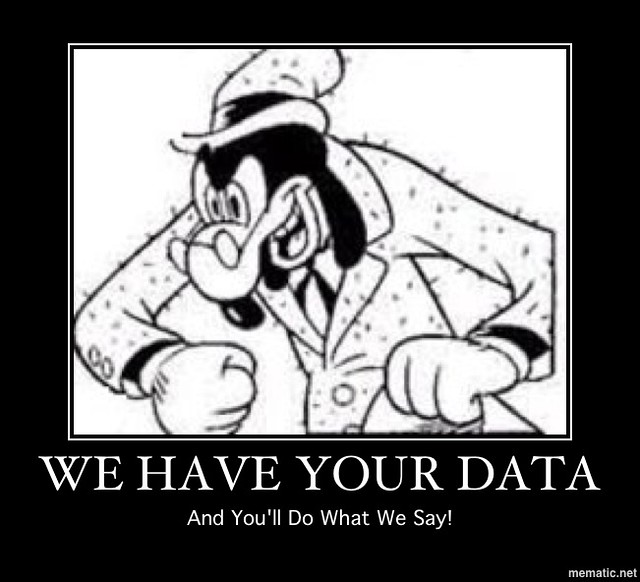 WE HAVE YOUR DATA