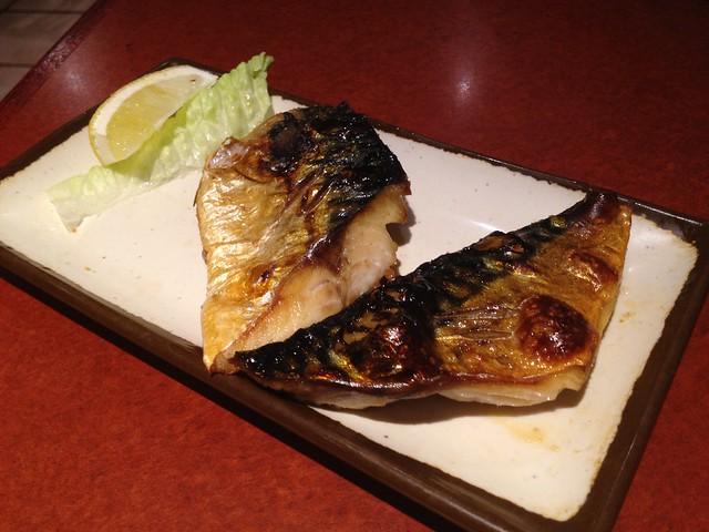 Sabashio yaki - Izakaya Takonoki