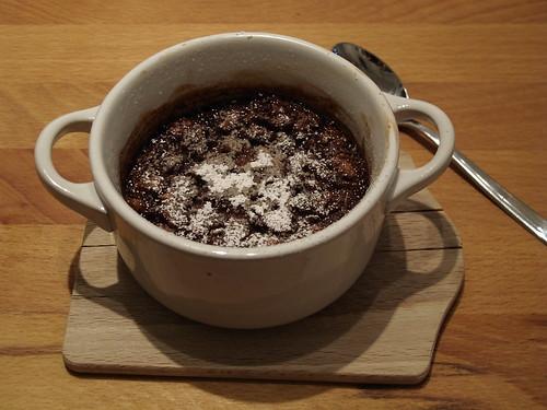 British Chocolate and Walnut Pudding