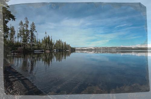 Yellowstone Border by Gary P Kurns Photography