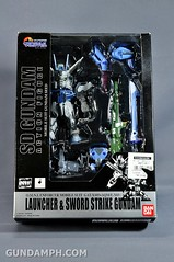 SDGO SD Launcher & Sword Strike Gundam Toy Figure Unboxing Review (1)
