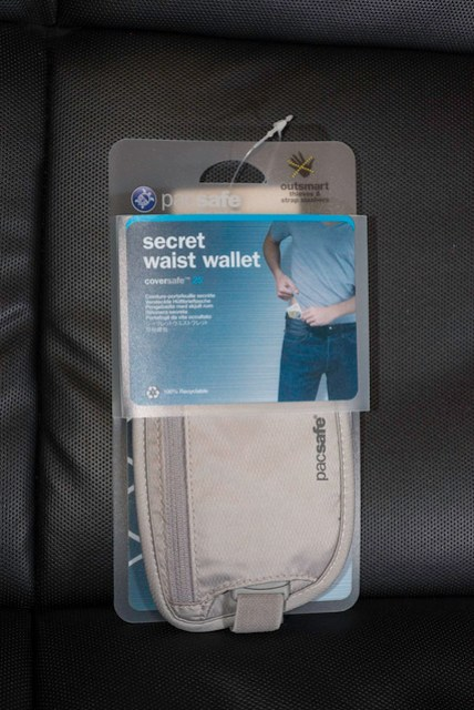 pacsafe secret waist wallet