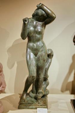 Paul Manship's bronze, Eve (#1)