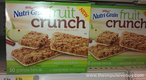 Nutrigrain Fruit Crunch Granola Bars