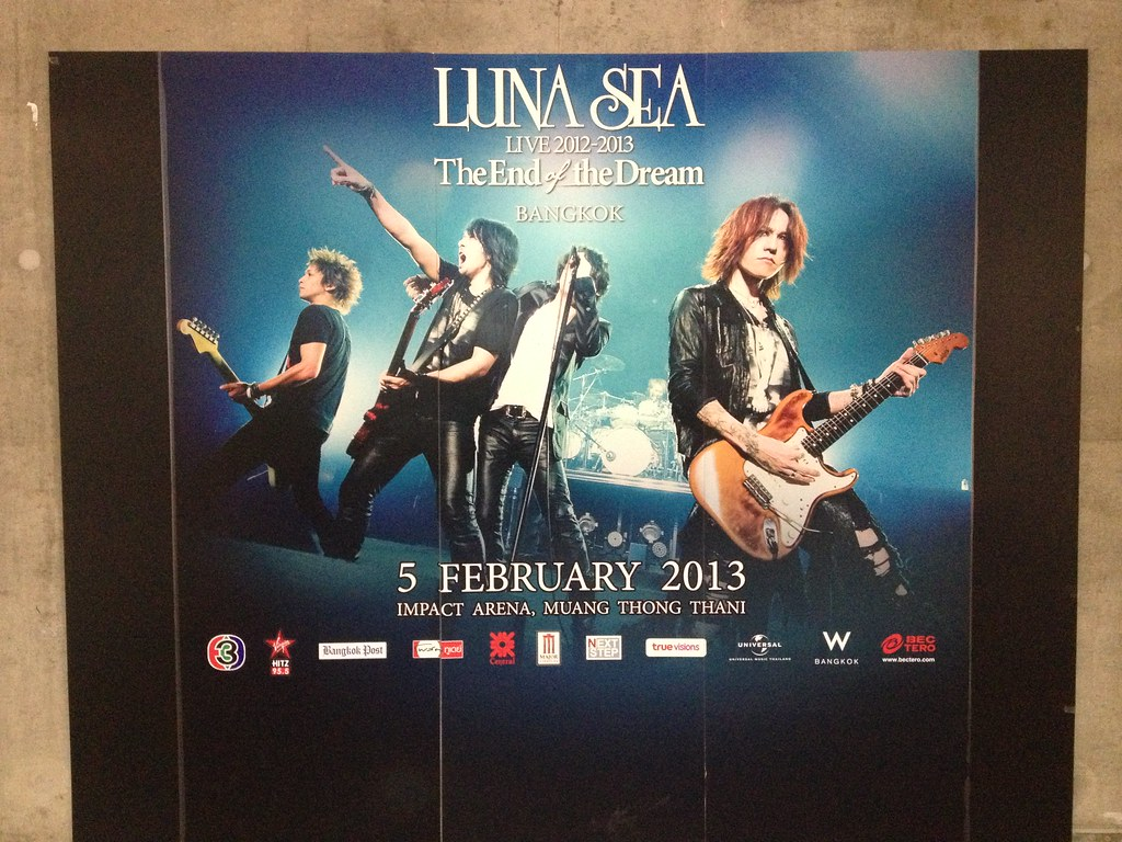 Luna Sea World Tour 2012-2013 ~The End of Dream~ Live in Bangkok Event Report