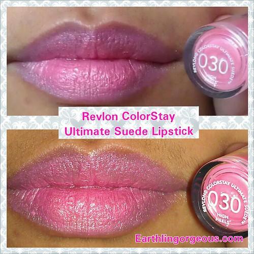 Revlon ColorStay Ultimate Suede Lipstick in High Heels 030