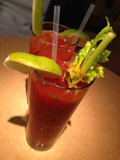 Bloody marys - Lark Creek Grill