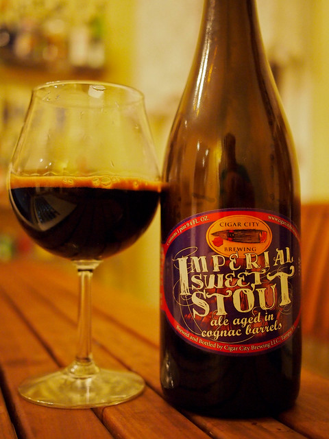 Cigar City Imperial Sweet Stout - Cognac