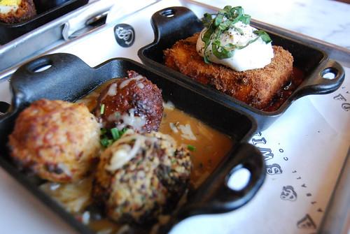Meatballs ala carte + Crispy Polenta