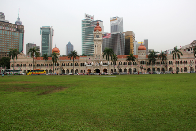 Merdeka Square and Sultan Abdul Samad Building
