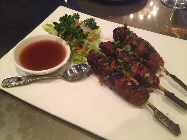 Lemongrass pork and beef skewers - Region