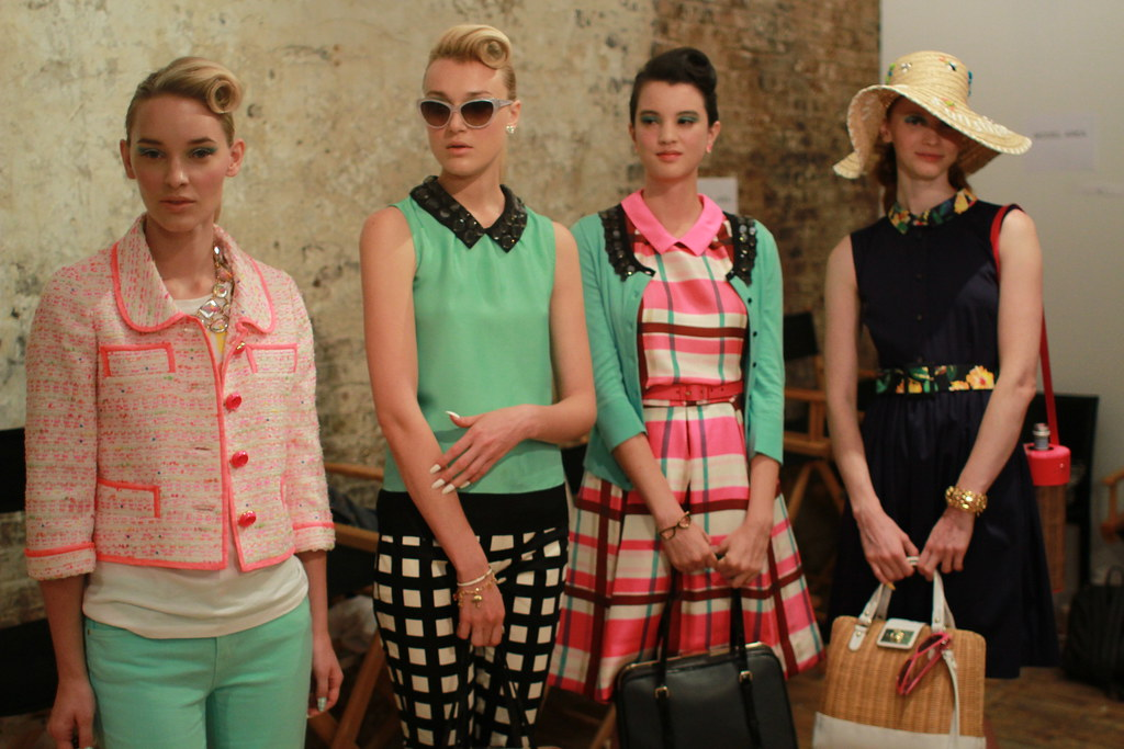 KATE SPADE S-S 2013 BACKSTAGE 004