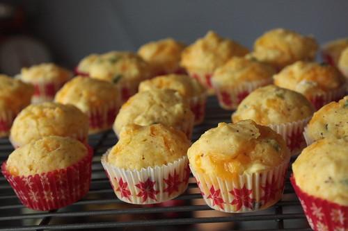 Cheddar Mustard Muffins