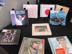 CDs on display at Central Library Tuam