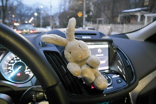 Just Hanging Round The Dash