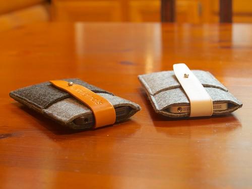 Mujjo iPhone 5 Wallets