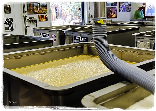 Bubbling Mash - Garrison Brothers Bourbon Distillery