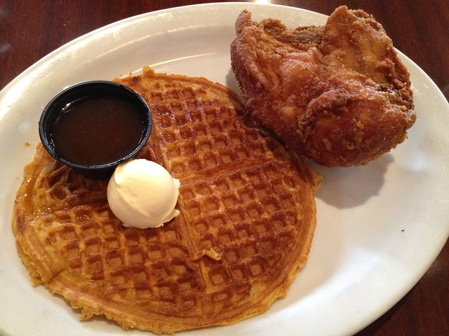 Uptown special - Gussie's Chicken and Waffles