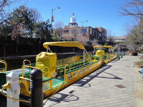 Water Taxi at Bricktown