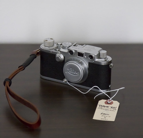 Leica IIIf and Strap by sstorholm