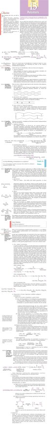 NCERT Class XII Chemistry Chapter 15 - Polymers