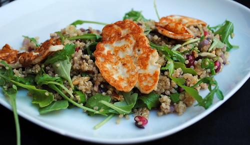 Halloumi Quinoa 'Tabbouleh' Salad