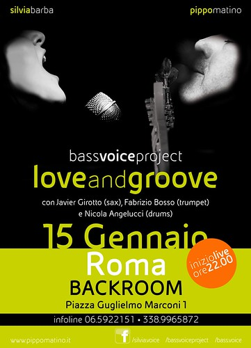 BASSVOICE PROJECT presenta il nuovo disco LoveAndGroove by cristiana.piraino